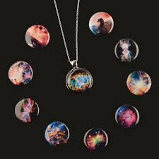 store necklace images Interchangeable nebula necklace with 10 designs iflscience store jpg