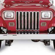 Rugged Ridge Billet Grille Inserts In Black Jeep Grille Insert American Flag Grille Inserts 4wd Com