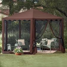 Gazebo Screen House by Pop Up Tent Gazebo Cozy Tent Gazebo That You Can Do It Yourself