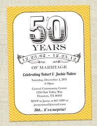 fiftieth anniversary template 50th anniversary invitations template wedding templates
