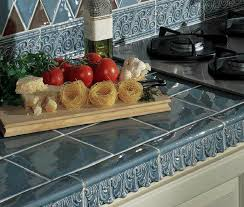 tile countertop ideas kitchen tile counter ideas for kitchens and baths