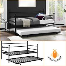 Modern Daybed With Trundle Modern Daybed Ebay