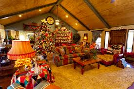 home decorating christmas interior design awesome country themed christmas decorations