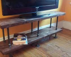Rustic Tv Console Table Rustic Industrial Tv Stand Rustic Industrial Coffee Table