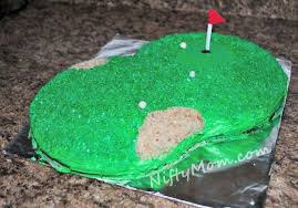 golf cake for father u0027s day