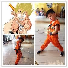 Dragon Halloween Costume Kids Kid Goku Costume Promotion Shop Promotional Kid Goku Costume