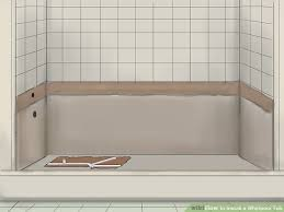 How To Plumb A Bathtub Trap How To Install A Whirlpool Tub With Pictures Wikihow