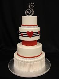137 best wedding cakes red u0026 white images on pinterest amazing