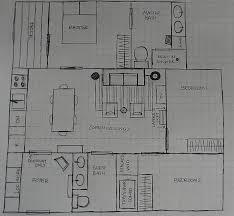 small 3 bedroom loft house plans 800 square feet main floor