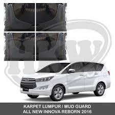 Toyota Calya Karpet Lumpur Mud Guard Aksesoris Jsl jual mud guard karpet lumpur penahan lumpur all new innova 2016
