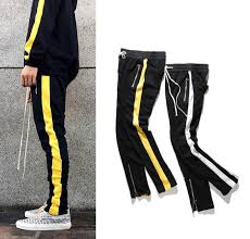 designer sweatpants shop designer clothing mens zipper pocket and anke zip