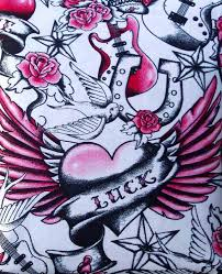 Tattoo Bedding Queens Of Hearts Skull Tattoo Photos Pictures And Sketches