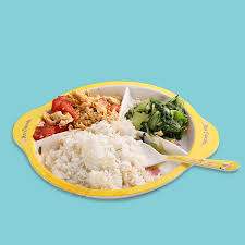 fashion cute minions kids lunch box dinner plates melamine dishes