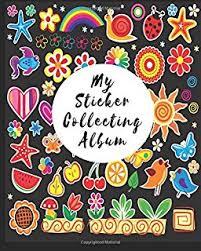 8 X 10 Photo Album Books Sticker Collecting Album Large Blank Sticker Book 8 X 10 64