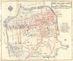 San Francisco City Map by Market Street Railway Map Of San Francisco City Wide Serv U2026 Flickr