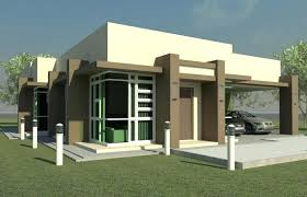 one bungalow house plans one floor modern house plans small modern bungalow house plans