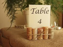diy table number holders wine cork table number holder wedding numbers loverlees diy