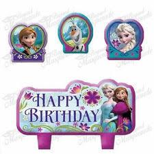 winter wonderland princess elsa frozen birthday cake topper set