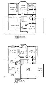 Two Story House Plans With Master Second Floor Narrow Best