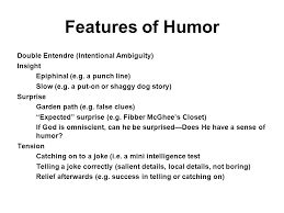 humor features functions u0026 subjects by don l f nilsen and