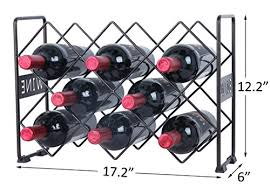 pattern for wine bottle holder finnhomy 10 bottle wine rack with wine pattern wine bottle holder