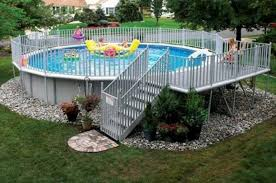 Swimming Pool Ideas 40 Uniquely Awesome Above Ground Pools With Decks