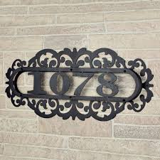 metal house numbers and letters best metal house numbers