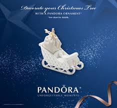 pandora ornament 2014 promotion charms addict