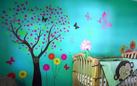 Wall Decal Decorating Ideas For Childrens Rooms My New Apartment - Kids room wall decoration