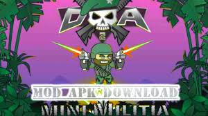 mod apk android mini militia mod apk for android free version