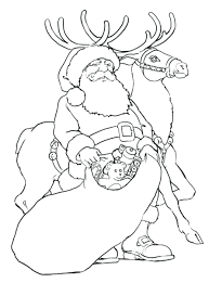 rudolph coloring pages printable eliolera