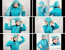 tutorial hijab segi empat paris simple image hijab shintarizky