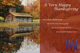 a happy thanksgiving wish to your family from ours jase