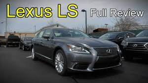 lexus ls 2016 2016 lexus ls full review ls 460 460 l 600h l u0026 f sport youtube