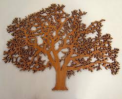 oak tree 48 wide laser cut cherry veneer wood 1 2 thick my