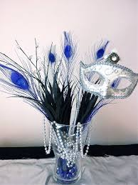 Masquerade Bedroom Ideas Fantastic Masquerade Party Centerpiece Feathers Mask Beads Etc