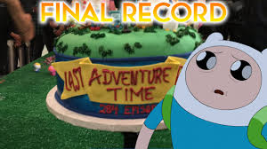 Adventure Time Invitation Card Adventure Time U0027s Final Episode Has Been Recorded Youtube