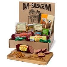 wisconsin cheese gift baskets dan the sausageman s yukon gourmet gift basket featuring dan s