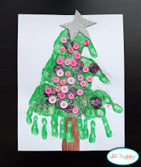 meet the dubiens handprint christmas trees good gifts for