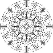 geometric abstract coloring pages coloring