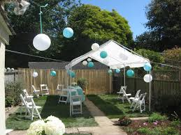 Backyard Wedding Decorations Ideas Back Yard Weddings On A Budget Backyard Wedding Ideas On A Budget