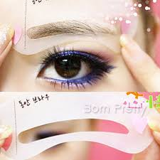 24 design reusable eyebrow guide quick drawing perfect even brow