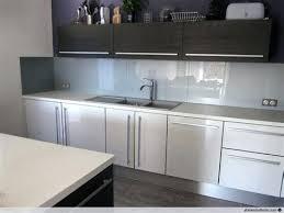 cuisine en verre blanc credence verre blanc credence pour cuisine blanche 1 d233co cuisine