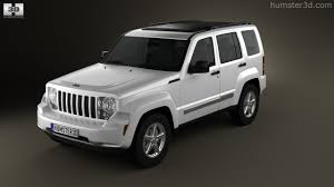 used jeep liberty 2008 360 view of jeep liberty cherokee 2008 3d model hum3d store