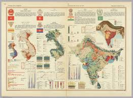 Map Nepal India by Vietnam Laos Cambodia India Pakistan Nepal Ceylon Pergamon