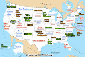 Dc State Map by What Your State Is U2026 According To Bing Auto Complete U2013 Estately Blog