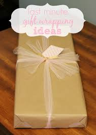 where to buy gift wrap last minute gift wrapping ideas