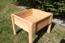 Planter With Legs by 100 Elevated Planter Box Plans Raised Garden Bed