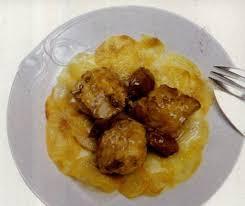 cuisiner de la lotte recette pommes de terre et lotte rôties aux échalotes confites