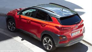 Size Of A Two Car Garage Hyundai Kona Electric Suv Will Offer Two Batteries Up To 210 Mile